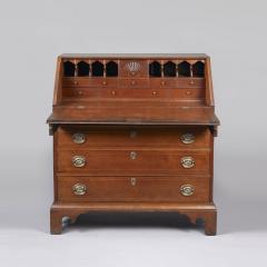 Chippendale Slant Top Desk c 1785 - 1113