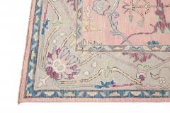 21st Century Contemporary Modern Oushak Style Wool Rug - 1493383