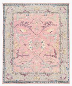 21st Century Contemporary Modern Oushak Style Wool Rug - 1493384