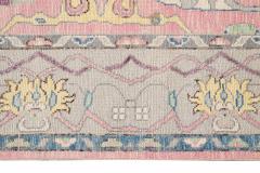 21st Century Contemporary Modern Oushak Style Wool Rug - 1493385