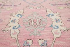 21st Century Contemporary Modern Oushak Style Wool Rug - 1493389
