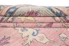 21st Century Contemporary Modern Oushak Style Wool Rug - 1493392