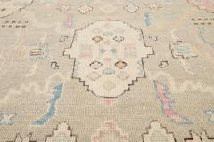 21st Century Contemporary Modern Oushak Style Wool Rug - 1493584