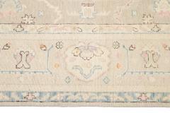 21st Century Contemporary Modern Oushak Style Wool Rug - 1493585