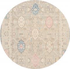 21st Century Contemporary Modern Oushak Style Wool Rug - 1493590