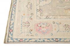 21st Century Contemporary Modern Oushak Style Wool Rug - 1493592