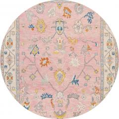 21st Century Contemporary Modern Oushak Style Wool Rug - 1493708