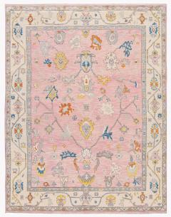 21st Century Contemporary Modern Oushak Style Wool Rug - 1493715