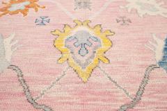21st Century Contemporary Modern Oushak Style Wool Rug - 1493719
