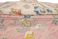21st Century Contemporary Modern Oushak Style Wool Rug - 1493722