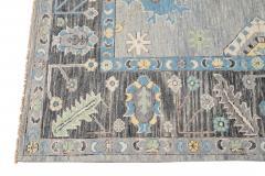 21st Century Contemporary Modern Oushak Style Wool Rug - 1493739