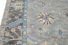 21st Century Contemporary Modern Oushak Style Wool Rug - 1493744