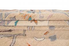 21st Century Contemporary Modern Oushak Style Wool Rug - 1493770