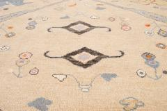 21st Century Contemporary Modern Oushak Style Wool Rug - 1493771