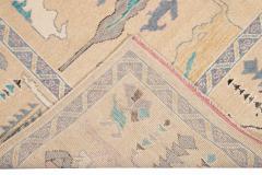 21st Century Contemporary Modern Oushak Style Wool Rug - 1493772