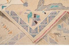 21st Century Contemporary Modern Oushak Style Wool Rug - 1493773