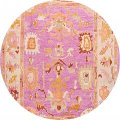 21st Century Contemporary Modern Oushak Wool Rug - 1478530