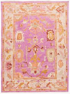 21st Century Contemporary Modern Oushak Wool Rug - 1478531