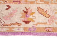 21st Century Contemporary Modern Oushak Wool Rug - 1478532