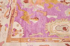 21st Century Contemporary Modern Oushak Wool Rug - 1478533