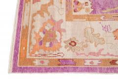 21st Century Contemporary Modern Oushak Wool Rug - 1478534