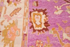21st Century Contemporary Modern Oushak Wool Rug - 1478538