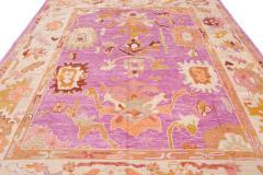 21st Century Contemporary Modern Oushak Wool Rug - 1478539