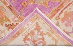 21st Century Contemporary Modern Oushak Wool Rug - 1478540