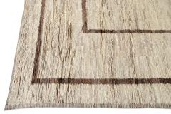 21st Century Contemporary Moroccan Oversize Wool Rug - 1558949