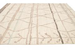 21st Century Contemporary Moroccan Style Wool Rug - 1468738