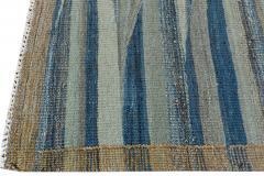 21st Century Modern Flatweave Kilim Style Wool Rug 9 x 12 - 1405368