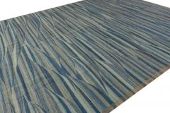 21st Century Modern Flatweave Kilim Style Wool Rug 9 x 12 - 1405369