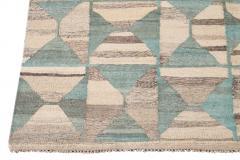 21st Century Modern Flatweave Kilim Style Wool Rug 9 x 14 - 1405308