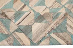 21st Century Modern Flatweave Kilim Style Wool Rug 9 x 14 - 1405311