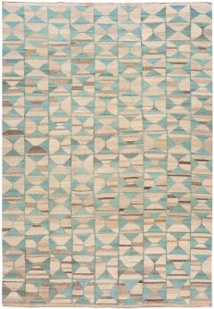 21st Century Modern Flatweave Kilim Style Wool Rug 9 x 14 - 1405315