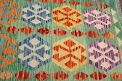 21st Century Modern Flatweave Kilim Wool Rug 8 x 12 - 1405630