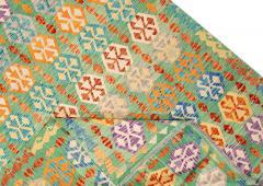 21st Century Modern Flatweave Kilim Wool Rug 8 x 12 - 1405634