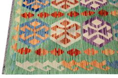 21st Century Modern Flatweave Kilim Wool Rug 8 x 12 - 1405638