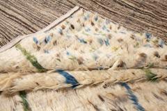 21st Century Modern Ivory Moroccan Tribal Wool Rug - 1558569