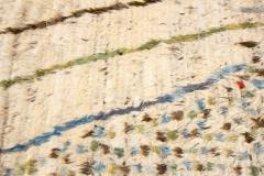 21st Century Modern Ivory Moroccan Tribal Wool Rug - 1558570