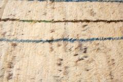 21st Century Modern Ivory Moroccan Tribal Wool Rug - 1558572