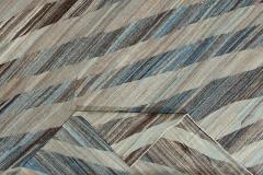 21st Century Modern Kilim Wool Rug 11 X 16 - 1405374