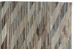 21st Century Modern Kilim Wool Rug 11 X 16 - 1405377