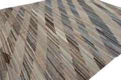 21st Century Modern Kilim Wool Rug 11 X 16 - 1405380