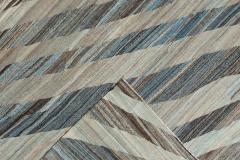 21st Century Modern Kilim Wool Rug 11 X 16 - 1405389
