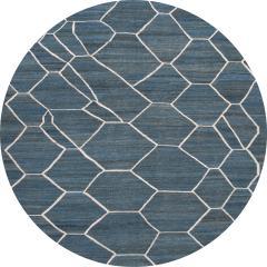 21st Century Modern Kilim Wool Rug 9 X 12 - 1405466