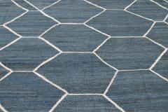 21st Century Modern Kilim Wool Rug 9 X 12 - 1405468