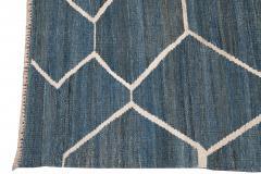 21st Century Modern Kilim Wool Rug 9 X 12 - 1405469