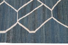 21st Century Modern Kilim Wool Rug 9 X 12 - 1405470