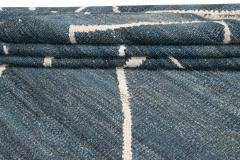 21st Century Modern Kilim Wool Rug 9 X 12 - 1405472